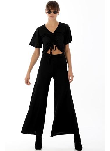 Emjey İtalyan Model Pantolon Siyah